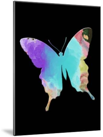 Butterfly Watercolor-Sheldon Lewis-Mounted Art Print