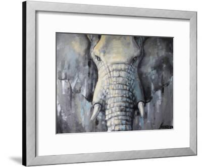 Lgray 1-Lena Navarro-Framed Art Print