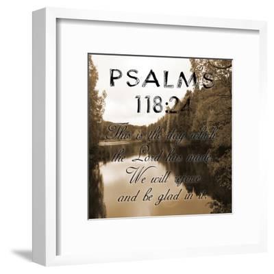 Be Glad In It Psalms-Sheldon Lewis-Framed Art Print