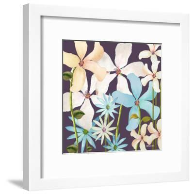 Blackberry Posies 2-Lorraine Rossi-Framed Art Print