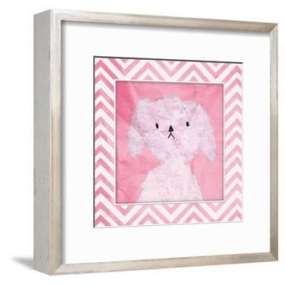 Pink Pooch-OnRei-Framed Art Print