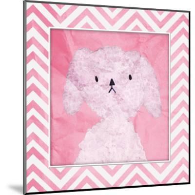 Pink Pooch-OnRei-Mounted Art Print