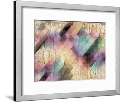 Color Code-Kimberly Allen-Framed Art Print