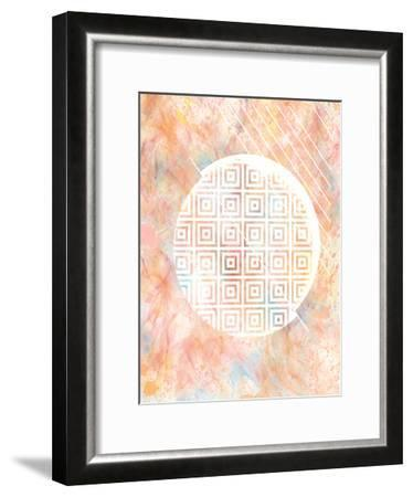 Color Design 1-Kimberly Allen-Framed Art Print