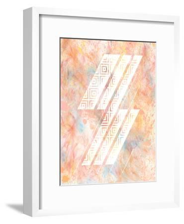 Color Design 2-Kimberly Allen-Framed Art Print