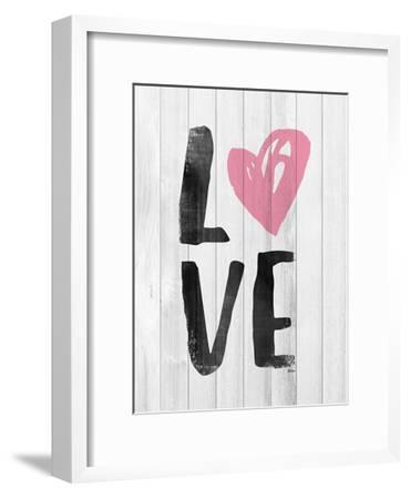 LOVE-Gigi Louise-Framed Art Print