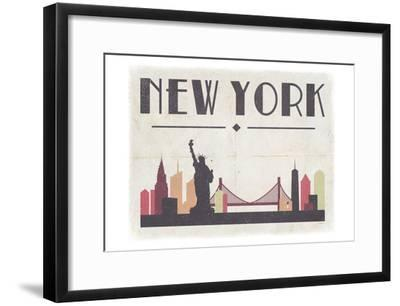 New York-Gigi Louise-Framed Art Print