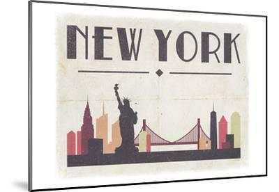 New York-Gigi Louise-Mounted Art Print