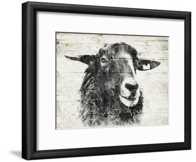 Vintage Sheep-Jace Grey-Framed Art Print