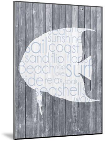 Fish Wood Panel-Lauren Gibbons-Mounted Art Print