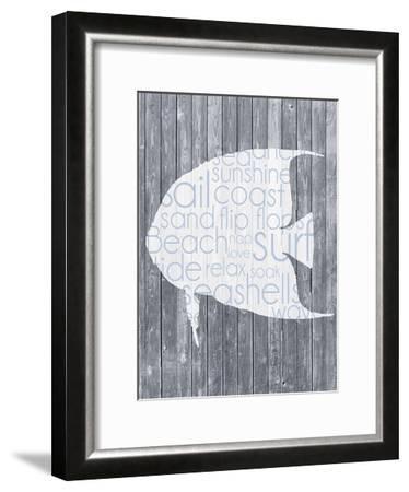 Fish Wood Panel-Lauren Gibbons-Framed Art Print