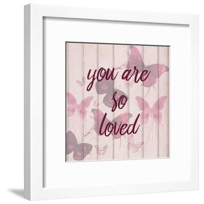You Are So Loved-Kimberly Allen-Framed Art Print