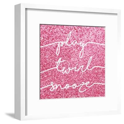 Play Twirl Snooze-Gigi Louise-Framed Art Print