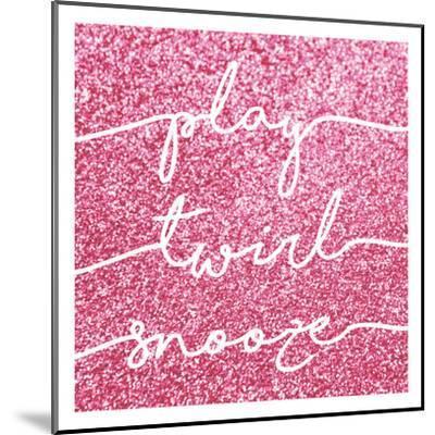 Play Twirl Snooze-Gigi Louise-Mounted Art Print