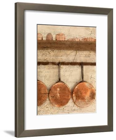 Copper 2-Kimberly Allen-Framed Art Print