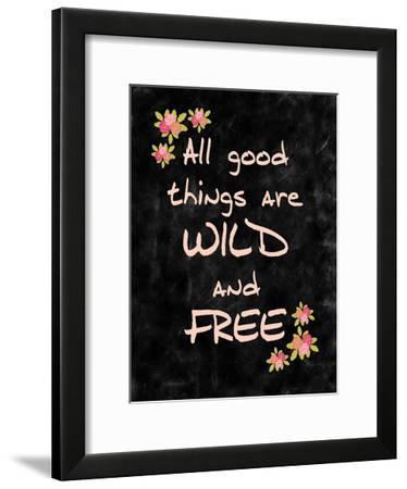 All Good Things-Kimberly Allen-Framed Art Print
