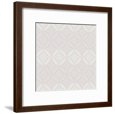 Hotel France Pattern 1-Kimberly Allen-Framed Art Print