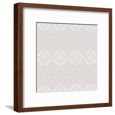 Hotel France Pattern 1-Kimberly Allen-Framed Art Print