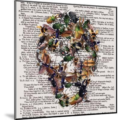 Skull 2.3.2-Victoria Brown-Mounted Art Print
