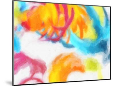 Spectrum Abstract-Taylor Greene-Mounted Art Print
