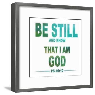 Be Still-Taylor Greene-Framed Art Print