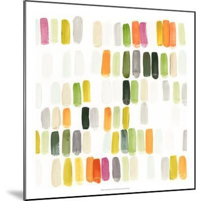 Colorful Swatches II-Julie Silver-Mounted Giclee Print