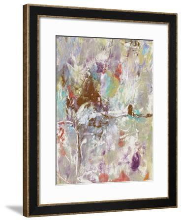 Mixed Emotions II-Julie Silver-Framed Giclee Print
