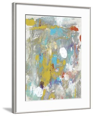 Mixed Emotions IV-Julie Silver-Framed Giclee Print