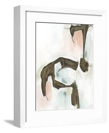 Sepia Structure II-Julie Silver-Framed Giclee Print