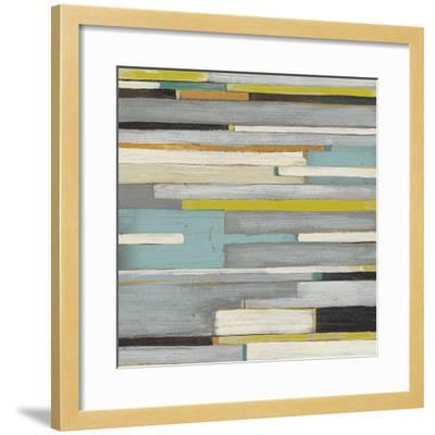Textile Texture II-Julie Silver-Framed Giclee Print