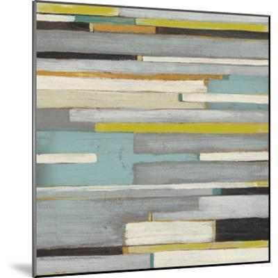 Textile Texture II-Julie Silver-Mounted Giclee Print