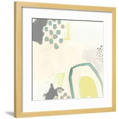 Thinking in Circles IV-Julie Silver-Framed Giclee Print