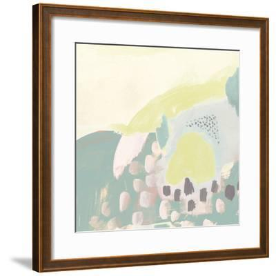 Thinking in Circles V-Julie Silver-Framed Giclee Print