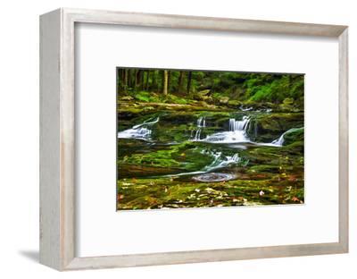Sullivan's Run #1-Robert Lott-Framed Art Print