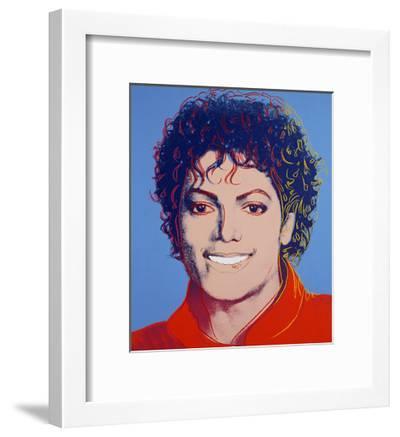 Michael Jackson 1984 Andy Warhol Framed Art Print