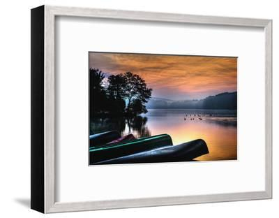 French Creek Sunrise-Robert Lott-Framed Art Print