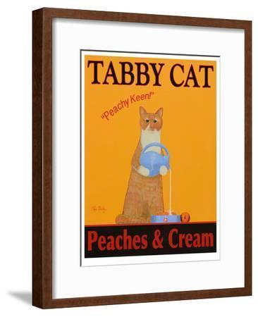 Tabby Cat Peaches & Cream-Ken Bailey-Framed Limited Edition
