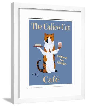 The Calico Cat Café-Ken Bailey-Framed Limited Edition