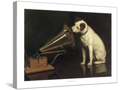His Master's Voice-Francis Barraud-Stretched Canvas Print
