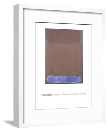 Untitled, 1968-Mark Rothko-Framed Giclee Print