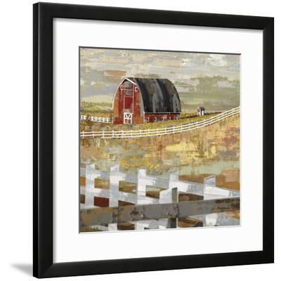 Long Barn - Paddock-Mark Chandon-Framed Giclee Print