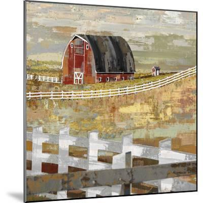 Long Barn - Paddock-Mark Chandon-Mounted Giclee Print