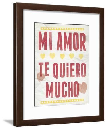 Mi Amor-Clara Wells-Framed Giclee Print
