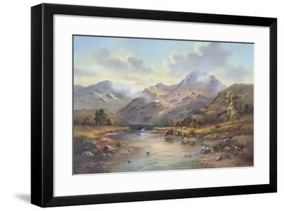 Highland Cattle I-Wendy Reeves-Framed Giclee Print