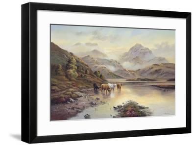Highland Cattle II-Wendy Reeves-Framed Giclee Print