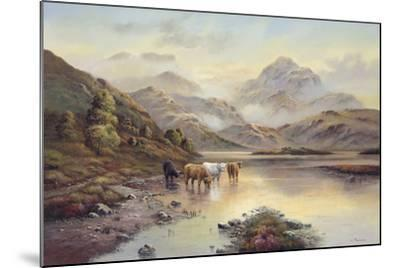 Highland Cattle II-Wendy Reeves-Mounted Giclee Print