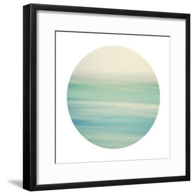 Coastal Hush - Sphere-Irene Suchocki-Framed Giclee Print