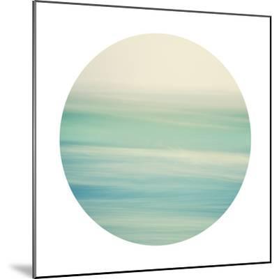 Coastal Hush - Sphere-Irene Suchocki-Mounted Giclee Print