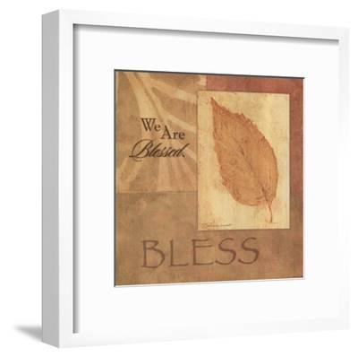 Bless - Leaf-Stephanie Marrott-Framed Art Print