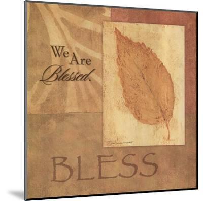 Bless - Leaf-Stephanie Marrott-Mounted Art Print